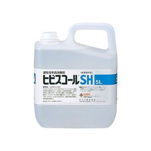 サラヤ 速乾性手指消毒剤 ヒビスコールSH 5リットル