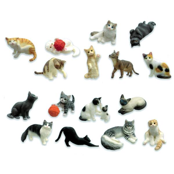 【送料無料】ミニチュアプラネット EX9全16種エイコーMINIATURE PLANETプライズ クレーンゲーム 動物 アニマル 猫