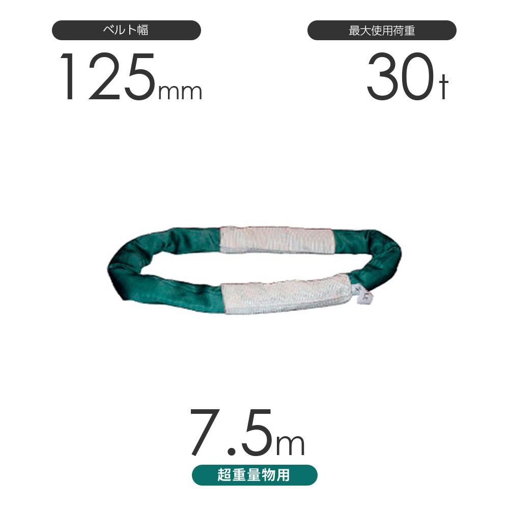 国産 超重量物用ソフトスリング エンドレス形(TTN型)使用荷重:30t×7.5m