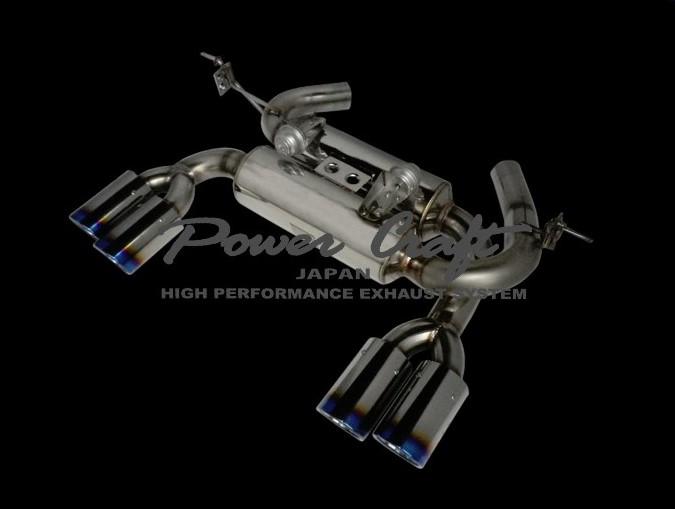 【お買得】 BMW F80 M3 / F82 M4ハイブリッドエキゾーストマフラーシステム エキゾーストバルブ付Abflug/Power Craft, ホビナビ d1c68143