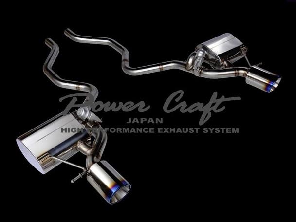 レンジローバースポーツ 5.0 スーパーチャージド 4WDハイブリッドエキゾーストマフラーシステム エキゾーストバルブ付Abflug/Power Craft
