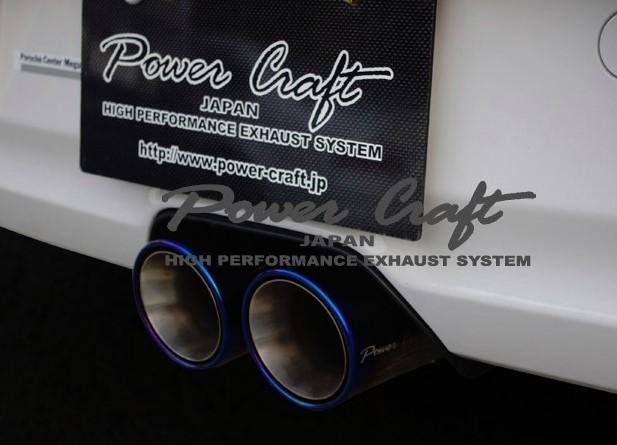 ポルシェ 991 GT3 GT3RSハイブリッドエキゾーストマフラーシステム純正エキゾーストバルブ対応Abflug/Power Craft