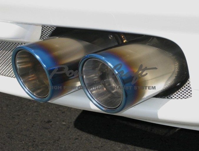 フェラーリ F612 スカリエッティハイブリッドエキゾーストマフラーシステム エキゾーストバルブ付Abflug/Power Craft