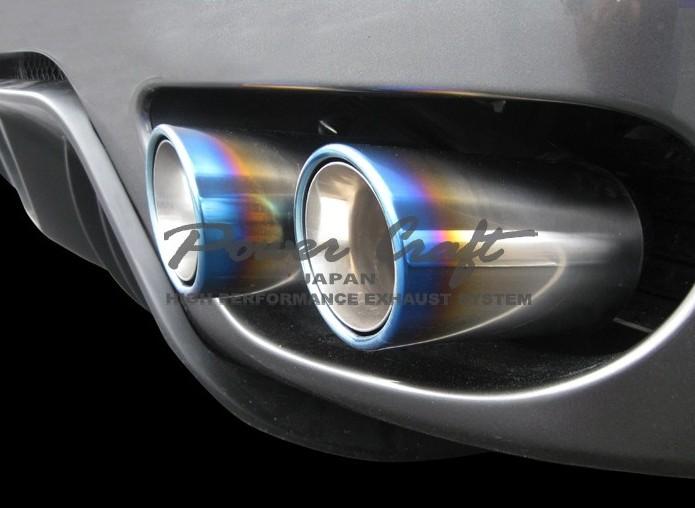フェラーリ F430 / スパイダーハイブリッドエキゾーストマフラーシステム エキゾーストバルブ付Abflug/Power Craft
