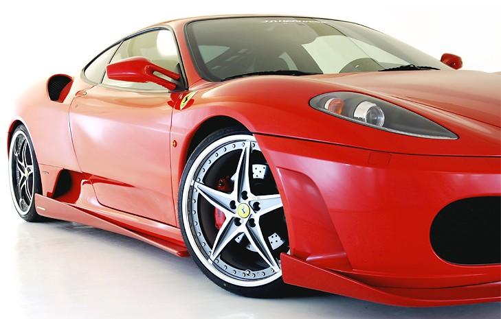 フェラーリ F430 サイドストレイカー/カーボンGALLANT ABFLUG
