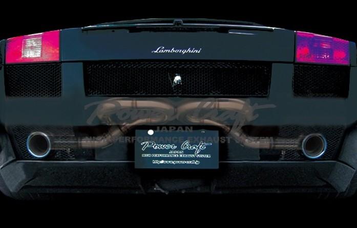 ランボルギーニ ガヤルド / スパイダー (2003~2005)(2006~2008)エキゾーストマフラーシステム/レーシングスペックAbflug/Power Craft