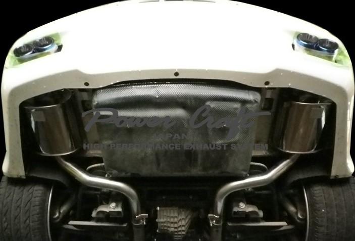 マセラティ クアトロポルテエキゾーストマフラーシステムAbflug/Power Craft