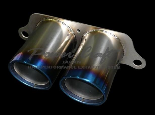 ポルシェ 997 GT3 テールフィニッシュ/TitanAbflug/Power Craft
