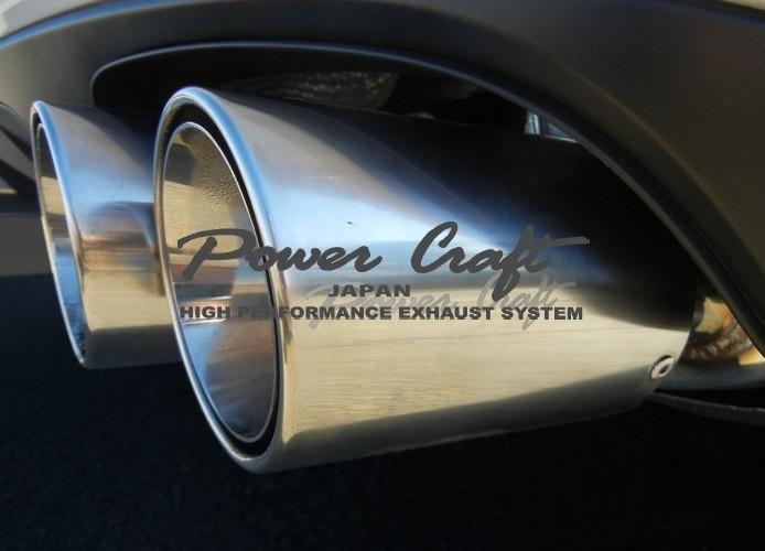 ポルシェ パナメーラ S・4S(V6)(V8)2007.3~2013.3 ハイブリッドエキゾーストマフラーシステムエキゾーストバルブ付Abflug/Power Craft