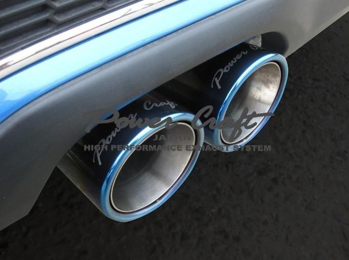 BMW MINI クーパーS R56 ~2014.3ハイブリッドエキゾーストマフラーシステム エキゾーストバルブ付Abflug/Power Craft