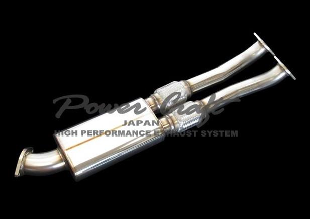 ニッサン R35 GT-R ストレート センターサイレンサーAbflug/Power Craft
