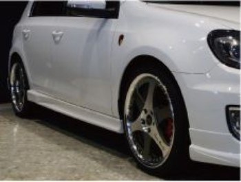 VW ゴルフ6 GTI サイドスカートABFLUG STOLZ