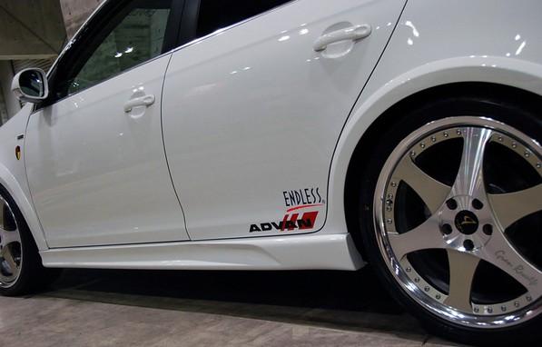 VW ゴルフ6 ヴァリアント サイドスカートABFLUG STOLZ