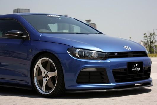 VW シロッコR フロントアンダースポイラー/カーボンABFLUG STOLZ