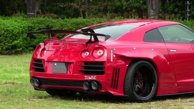 R35 GT-Rフロント&リアオーバーフェンダーキット ver.Break outGALLANT ABFLUG