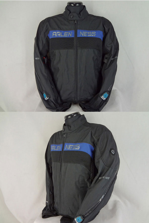 ARLEN NESS SUMMER MESH NYLON JACKET NJ-101150-AN BLUE euro model