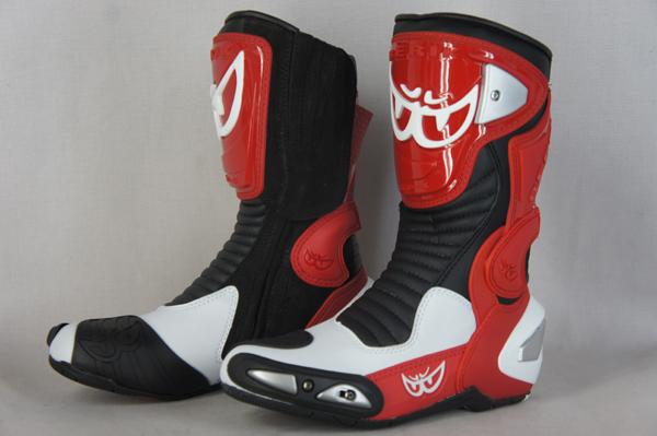 BERIK贝里克赛车长筒靴GP-X BOT-1289A-BK BLACK/RED season