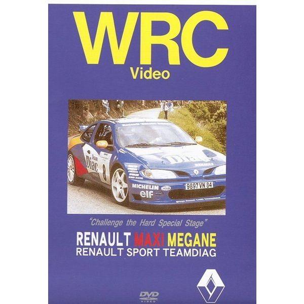 BOSCO WRC 랠리 ルノーメガーヌ MAXI Kit CAR RENAULT MAXI MEGANE ボスコビデオ DVD