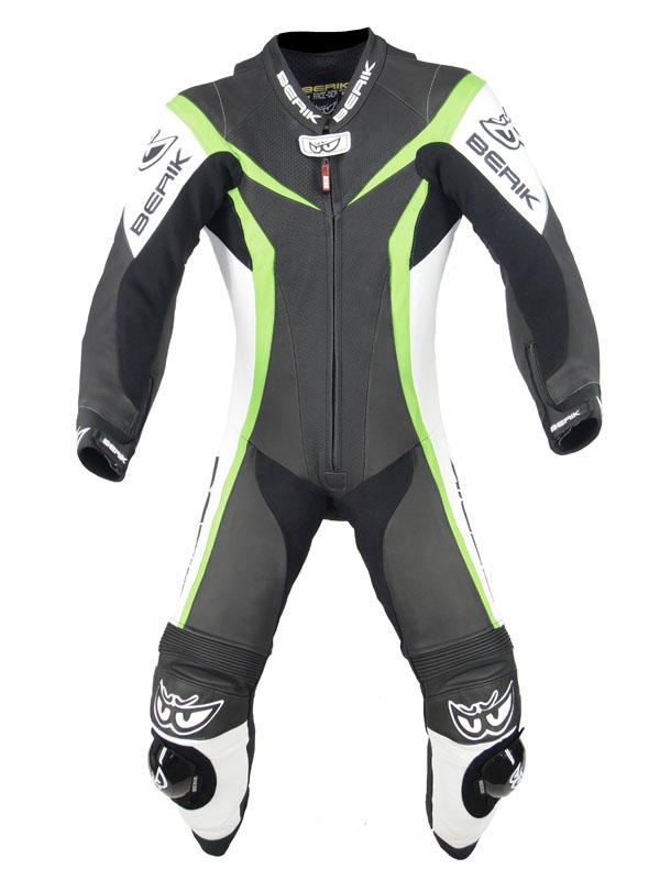 BERIK ベリック レーシングスーツ LS1-10417-BK GREEN 【バイク用品】