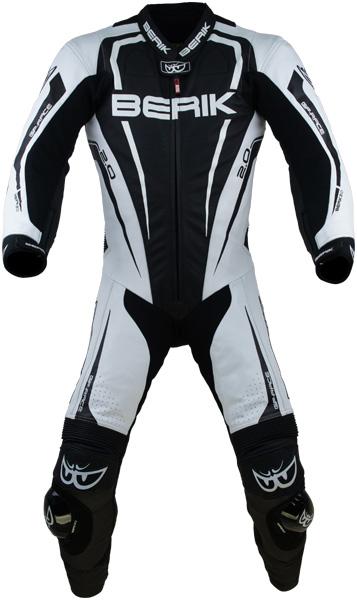 BERIK ベリック レーシングスーツ LS1-171334-BK BLACK/WHITE 【バイク用品】