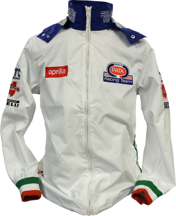 APRILIA PATA RACING TEAM JACKET 刺繍ロゴ入チームサマージャケット J-9483-DFX