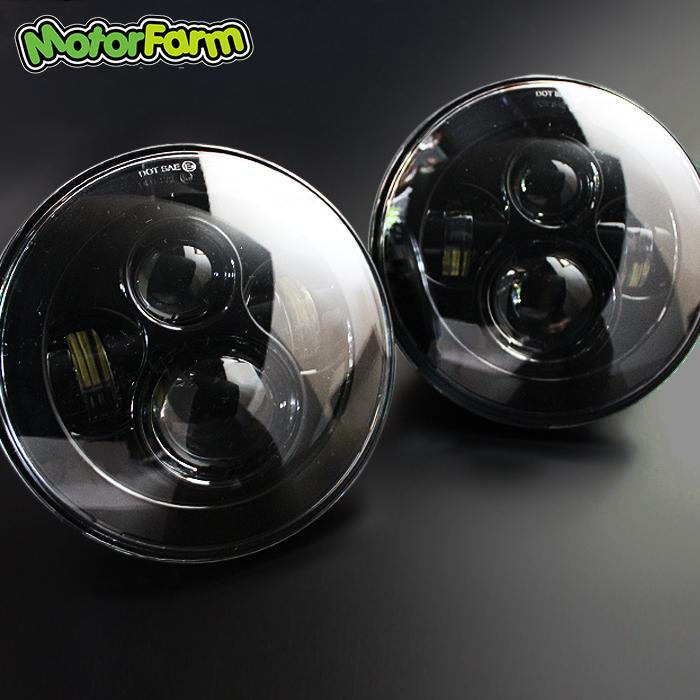 7インチ LEDプロジェクター ヘッドライト JA