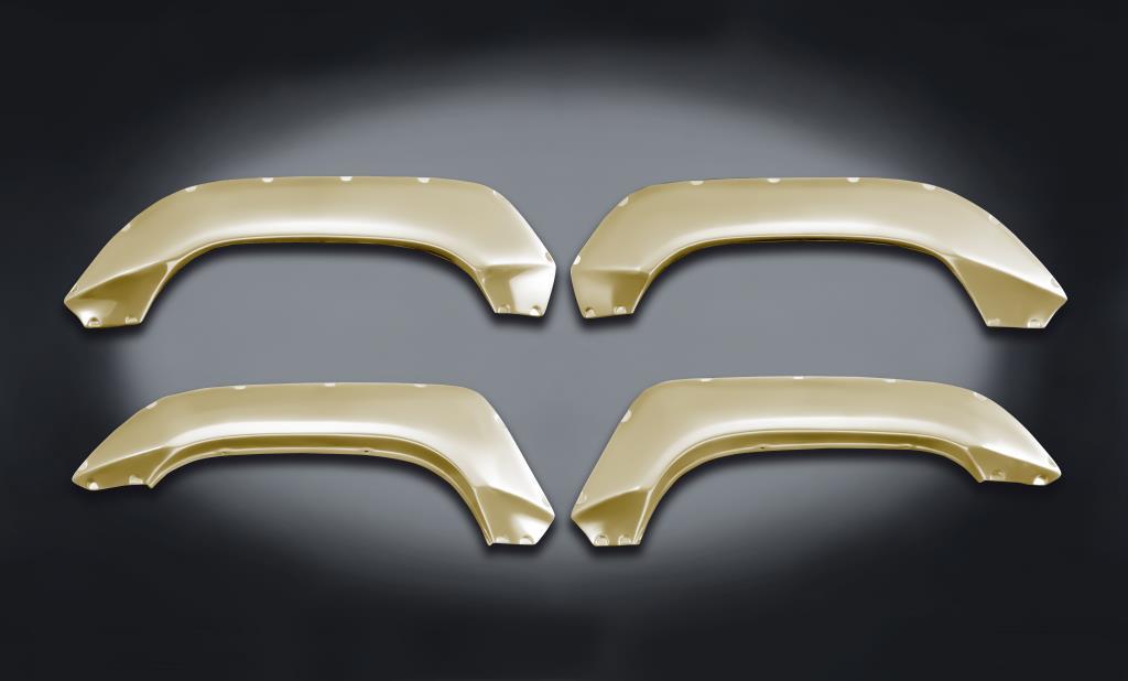 日本最大のブランド 60mmブリスターフェンダー ウレタン製 塗装済み (ZVG)/JB64 シフォンアイボリーメタリック (ZVG) 塗装済み, 荻町:fc2fd5de --- nclexauthentication.com