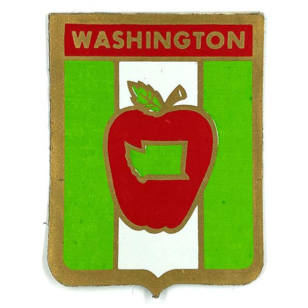 反射 ステッカー デッドストック Sticker Deadstock ワシントン州 ビンテージ REFLECTIVE デカール 爆安 2枚組 Vintage Decal リフレクティブ WASHINGTON 店