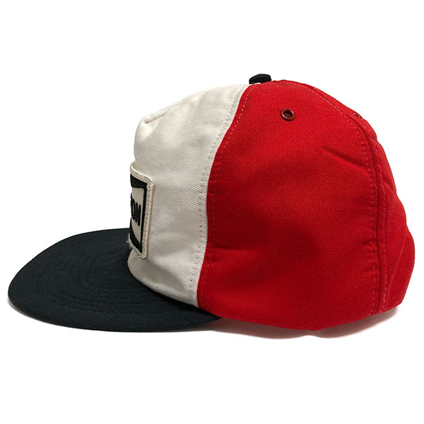 3881ea579e Champion spark plug vintage cap red   white   black CHAMPION SPARK PLUGS  Vintage Cap Red White Black