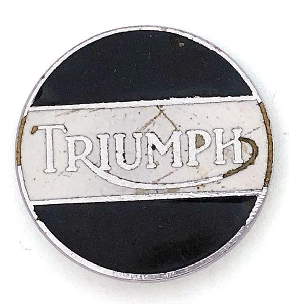 Antique Rico Company Firm Logo Motif Name Pin Badge