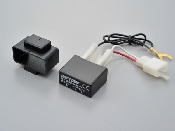 送料無料 デイトナ 日本正規代理店品 LED対応ウインカーリレー 3PIN チープ 99109