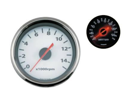【送料無料】 デイトナ 電気式タコメーター(15000rpm)/ホワイトパネル (65706)