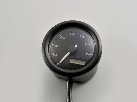 【送料無料】 デイトナ VELONA電気式スピードメーター Φ48/140k ブラックボディ (91682)
