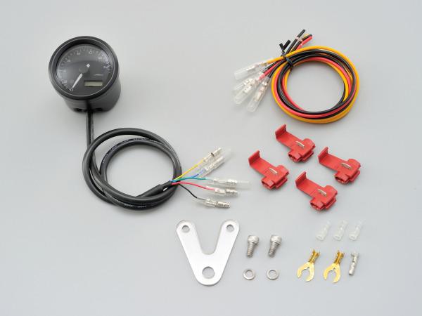 【送料無料】 デイトナ VELONA電気式タコメーター Φ48/15000rpm ブラックボディ (91676)