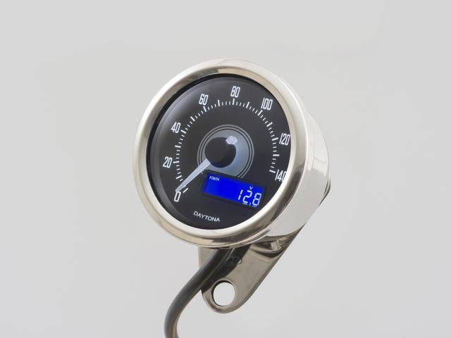【送料無料】 デイトナ VELONA電気式スピードメーター140k/バフボディ (92268)