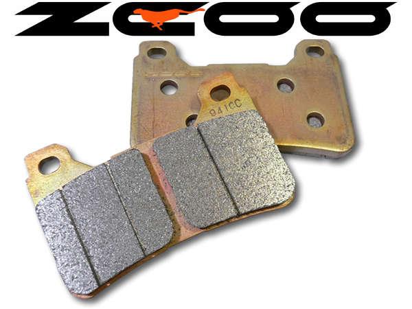 【送料無料】 ZCOOセラミックシンタードブレーキパッドセット YZF-R1/YZF-R6