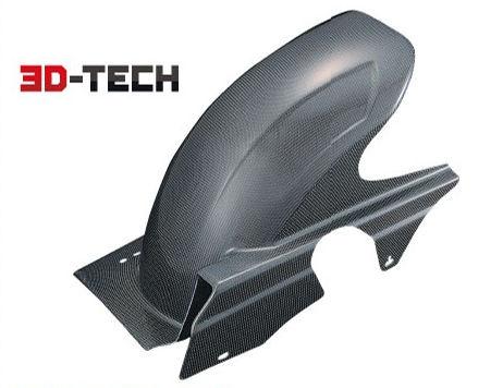 【送料無料】 POSH 3D-TECHカーボン リアフェンダー ZRX1200