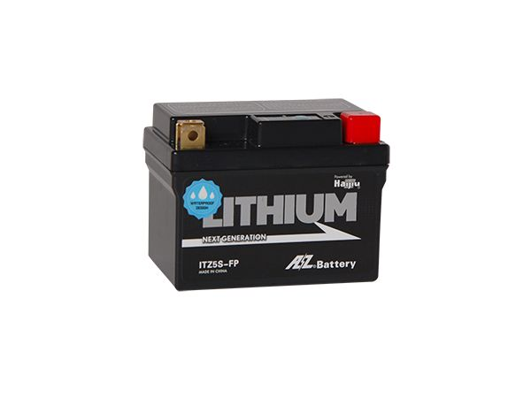 【送料無料】 AZバッテリー/二輪車用リチウムイオンバッテリー/ITZ5S-FP(互換/X4L-BS,X5L-BS)