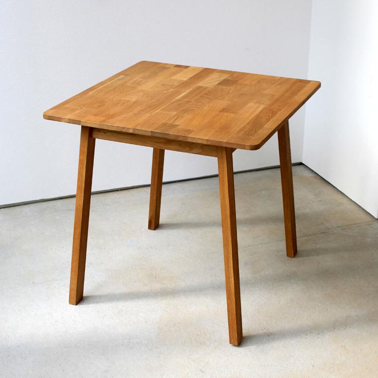ダイニングテーブル W750 オーク 木製 ダイニングテーブル 2名用 MTS-087