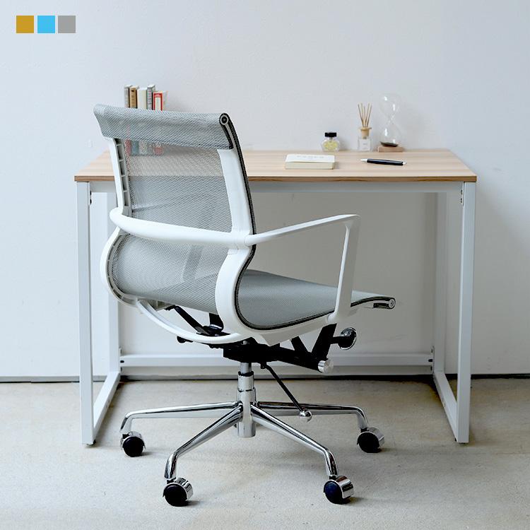 デスクチェア セット オフィスデスク MTS-109 BK 1台 オフィスチェア デスクチェア ワークチェア メッシュ ブルー グレー オレンジ MTS-126 スプリングチェア 1脚【アウトレット】クリアランス