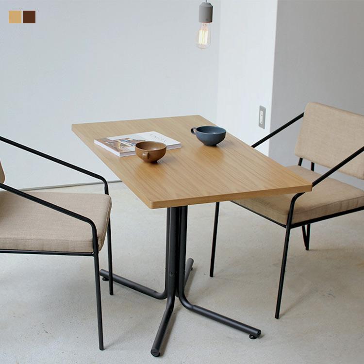 カフェテーブル テーブル ミーティングテーブル おしゃれ インテリア ナチュラル SALE開催中 北欧 天然木 新生活 単品 東谷 売り込み azumaya 長方形 ダリオ 一人暮らし ダイニングテーブル W100cm