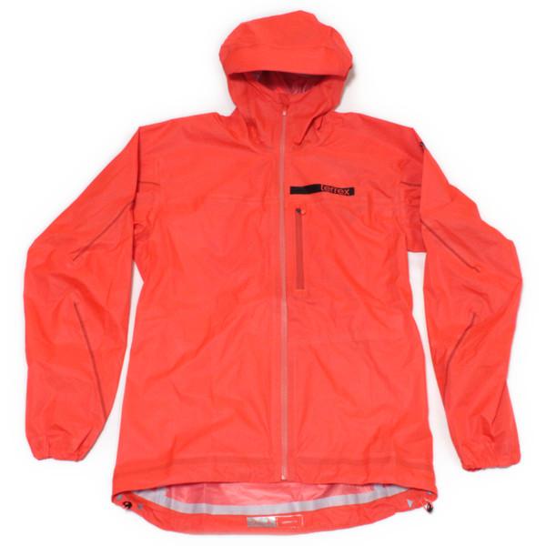 訳あり アディダス テレックス アグラビック 3レイヤー レインジャケット 橙 Adidas Terrex Agravic 3 Layer ソーラーレッド メンズ カッパ 雨具 新品 送料無料