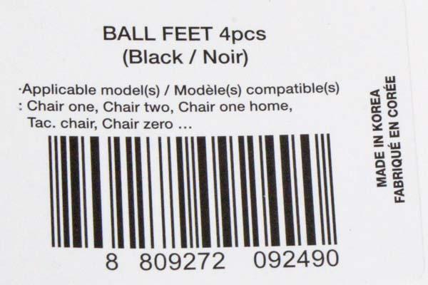 ヘリノックス ボールフィート 黒 1脚分 Helinox BALL FEET 4pcs ブラック BLACK イス チェア キャップ キャンプ グランピング アクセ 新品