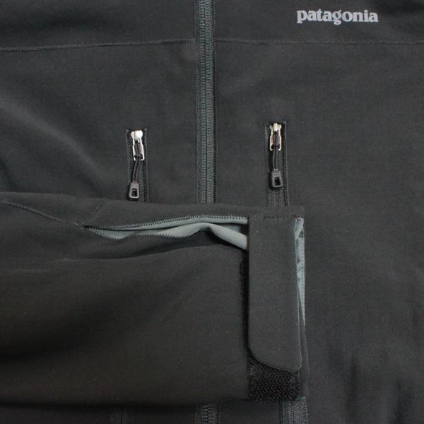 海外買付け!パタゴニア メンズ ノースウォール ジャケット 黒 PATAGONIA MEN'S NORTHWALL Jacket BLK 155 BLACK ブラック ポーラテック・パワー・シールド・プロ POLARTECH SLIM FIT JKT 耐久性 撥水  男性用 新品 即納