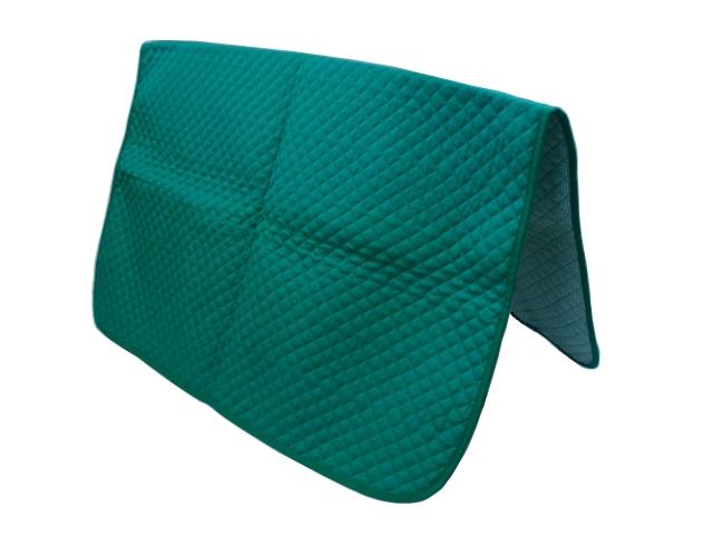 鞍下パッド(薄型)カラー:グリーン/ブルー