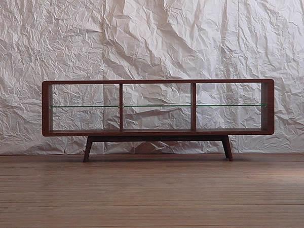 天然木ウォールナットのテレビボード[Canvas] (tv01)