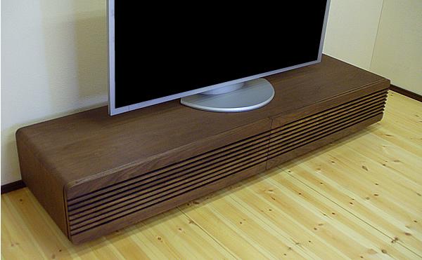 【完成品】【送料無料】テレビ台 テレビボード 完成品 北欧 テレビラック TVボード TVラック リビングボード シンプル AV収納 ダークブラウン ウォールナット TV台