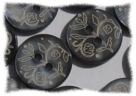 Price ↓ button floral shell ♪ diameter 1.5 cm 10 PCs