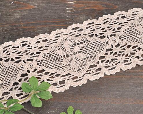 7 Cm width torchon lace wide 10 yards