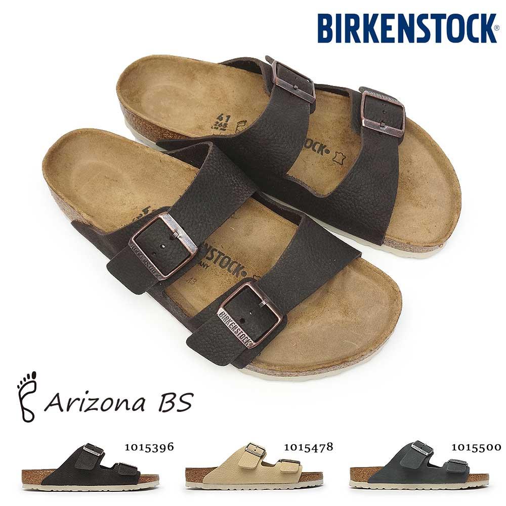 ビルケンシュトック メンズ サンダル アリゾナ BS コンフォート ダブルストラップ ヌバックレザー 定番 カントリー風 Birkenstock Arizona BS